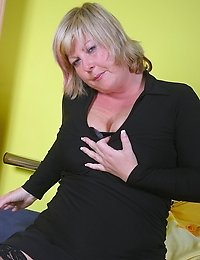 Big titted mama shows us what shes got